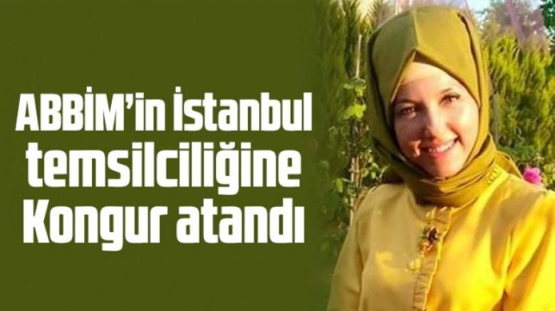 ABBİM' in İstanbul İl Temsilciliğine Nurcan Kongur Atandı