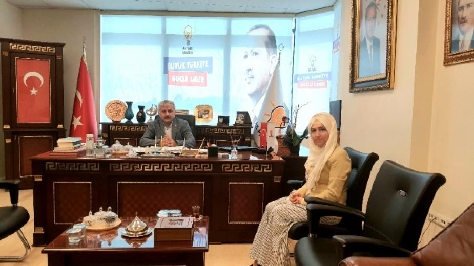 Ak Parti Maltepe ilçe Başkanı Mehmet Karadeniz'i ziyaretimiz