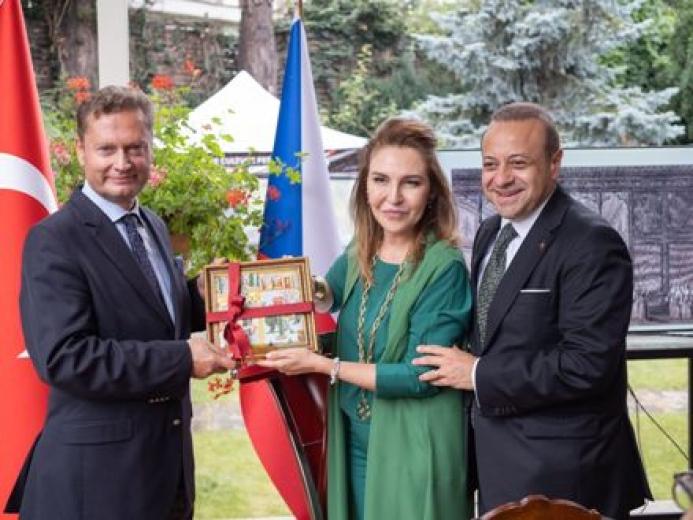 """Bağış: """"Prag'da Türk kültürü festivali bu sene kahve teması ile gerçekleşiyor."""