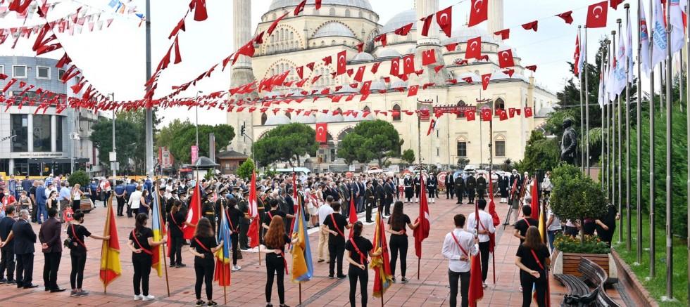 Maltepe'de 30 Ağustos Zafer Bayramı Coşkuyla Kutlandı