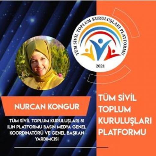 Tüm Sivil Toplum Kuruluşları 81 İlin Platformu Basın Medya Genel Koordinatörlüğüne Kongur getirildi.