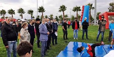 Maltepe'de 'Herkes İçin Spor Her Yerde Spor' etkinliği düzenlendi